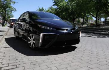 La Mirai de Toyota dévoilée en première au Québec