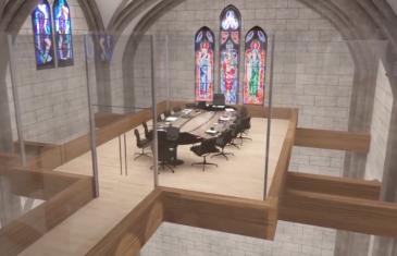 Le Groupe Van Houtte transforme une église de façon spectaculaire dans le quartier Villeray à Montréal