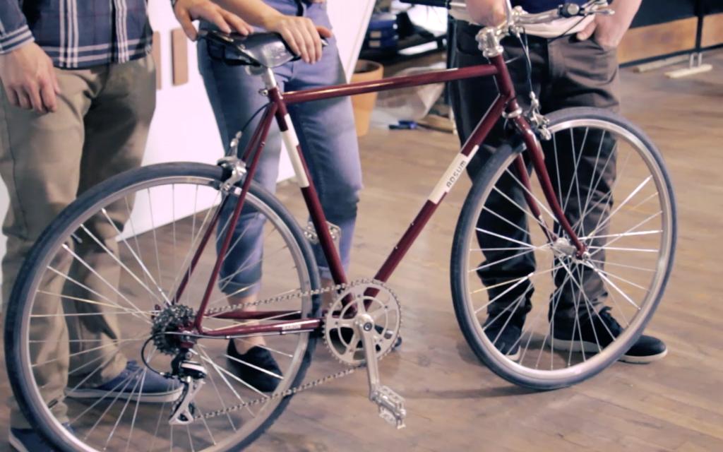 Adsum: un nouveau vélo urbain fait à la main à Montréal