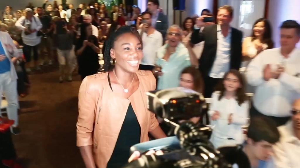 Venus Williams lance EleVen by Venus au Midtown Le Sanctuaire à Montréal