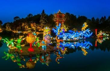 Jardins de lumière: l'incontournable des soirées d'automne à Montréal