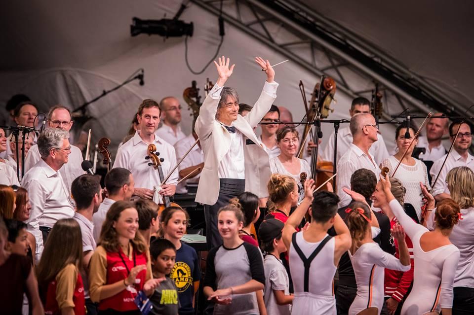 Plus de 300 musiciens pour un spectacle gratuit au pied du Mont-Royal