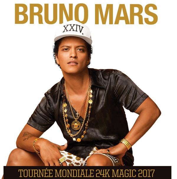 Bruno Mars en spectacle à Montréal le 29 et 30 août