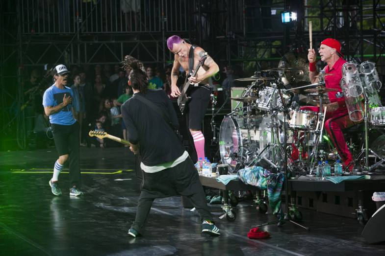 Red Hot Chili Peppers en spectacle à Montréal le 20 juin
