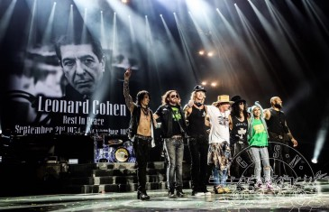 Guns N' Roses en spectacle à Montréal au Parc Jean-Drapeau