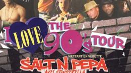Un spectacle party des années 90 au Centre Bell