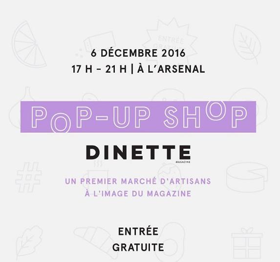 Dinette pop up