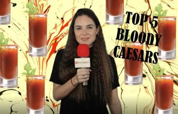 Top 5 des Bloody Caesars les plus originaux en ville