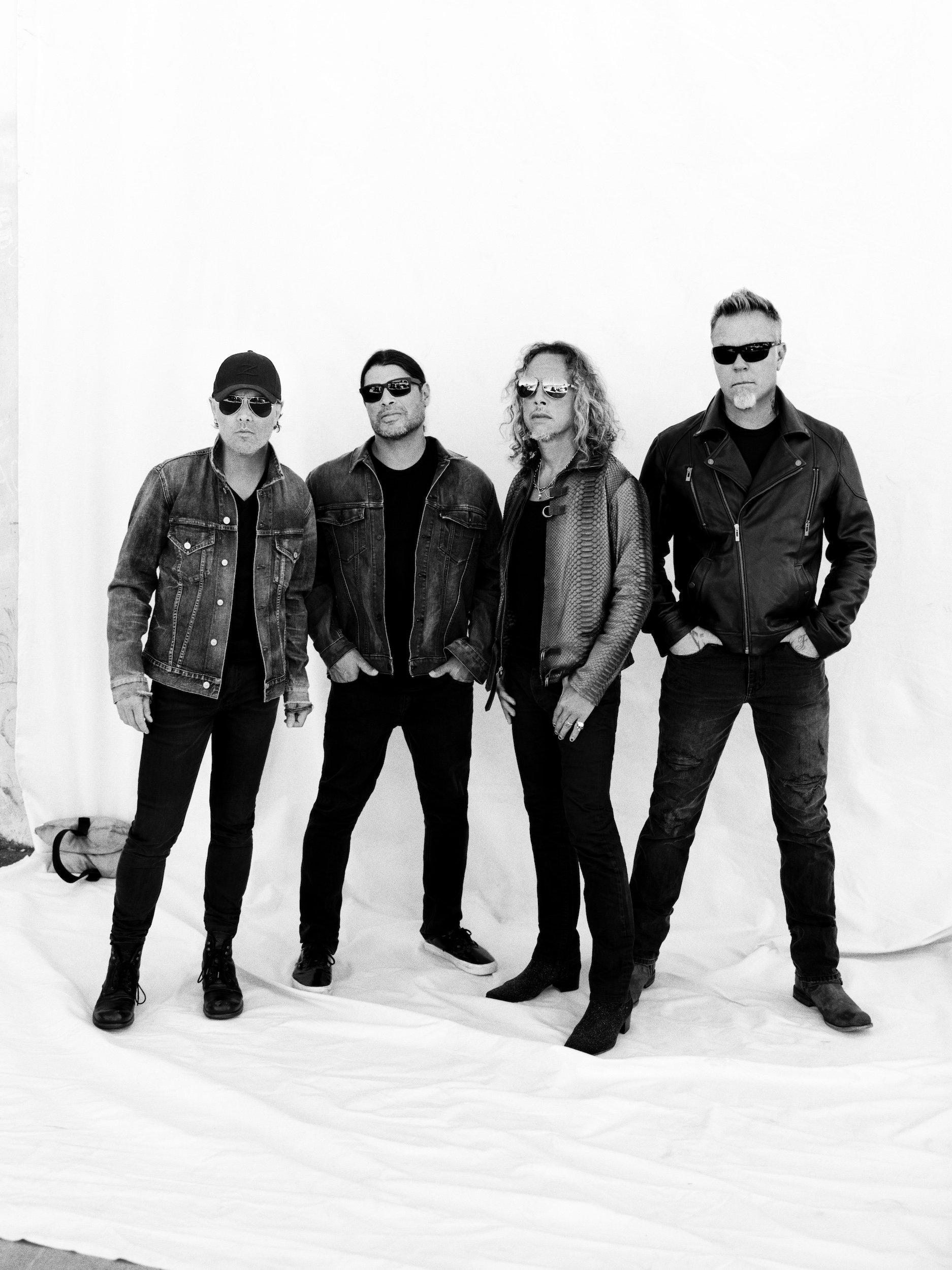 Metallica en spectacle à Montréal au Parc Jean-Drapeau