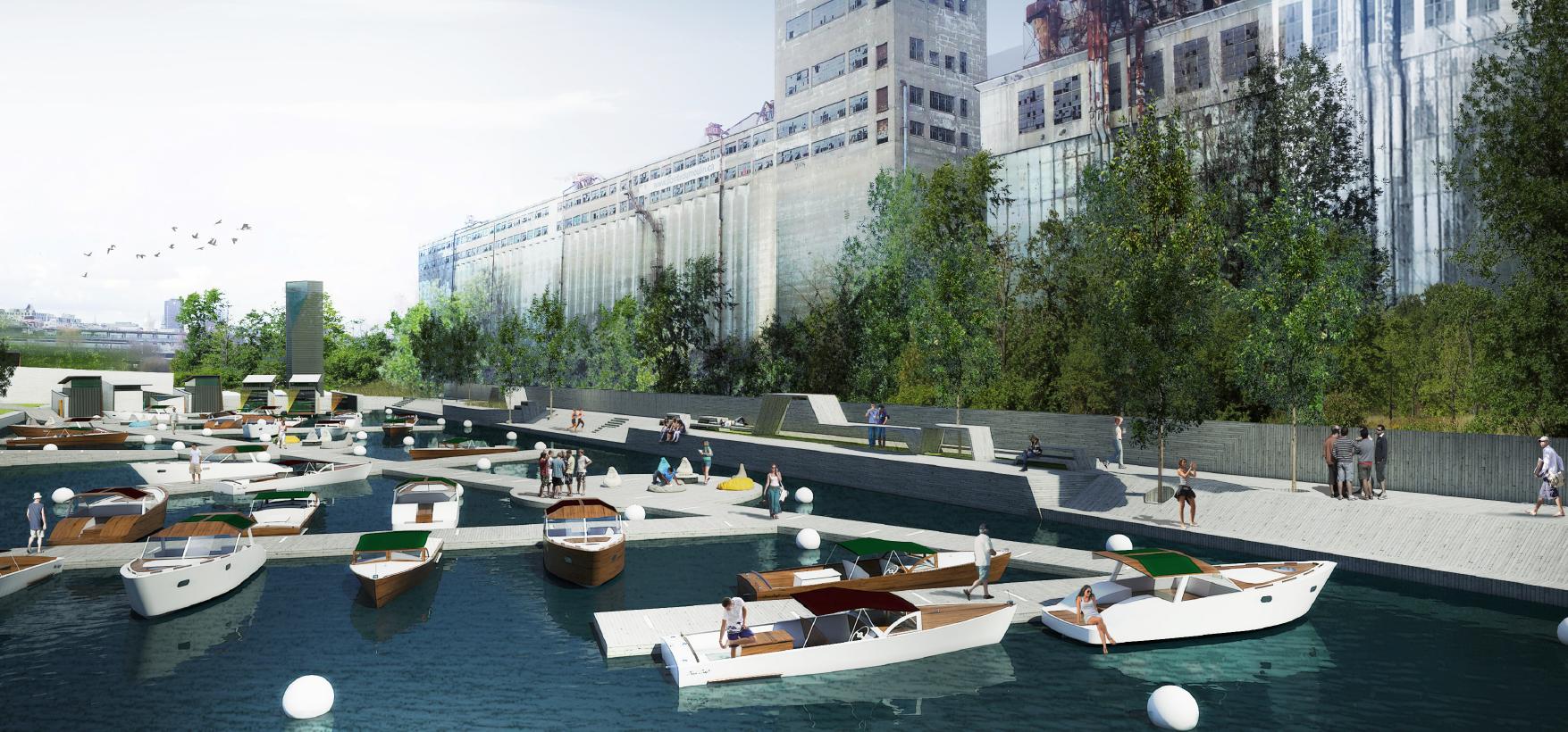 Tu vas pouvoir coucher dans des bateaux et faire du camping cet été dans le Vieux-Port de Montréal