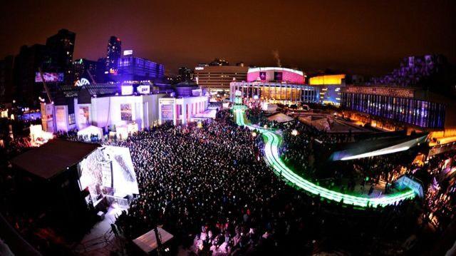 Plan de match pour la Nuit blanche à Montréal