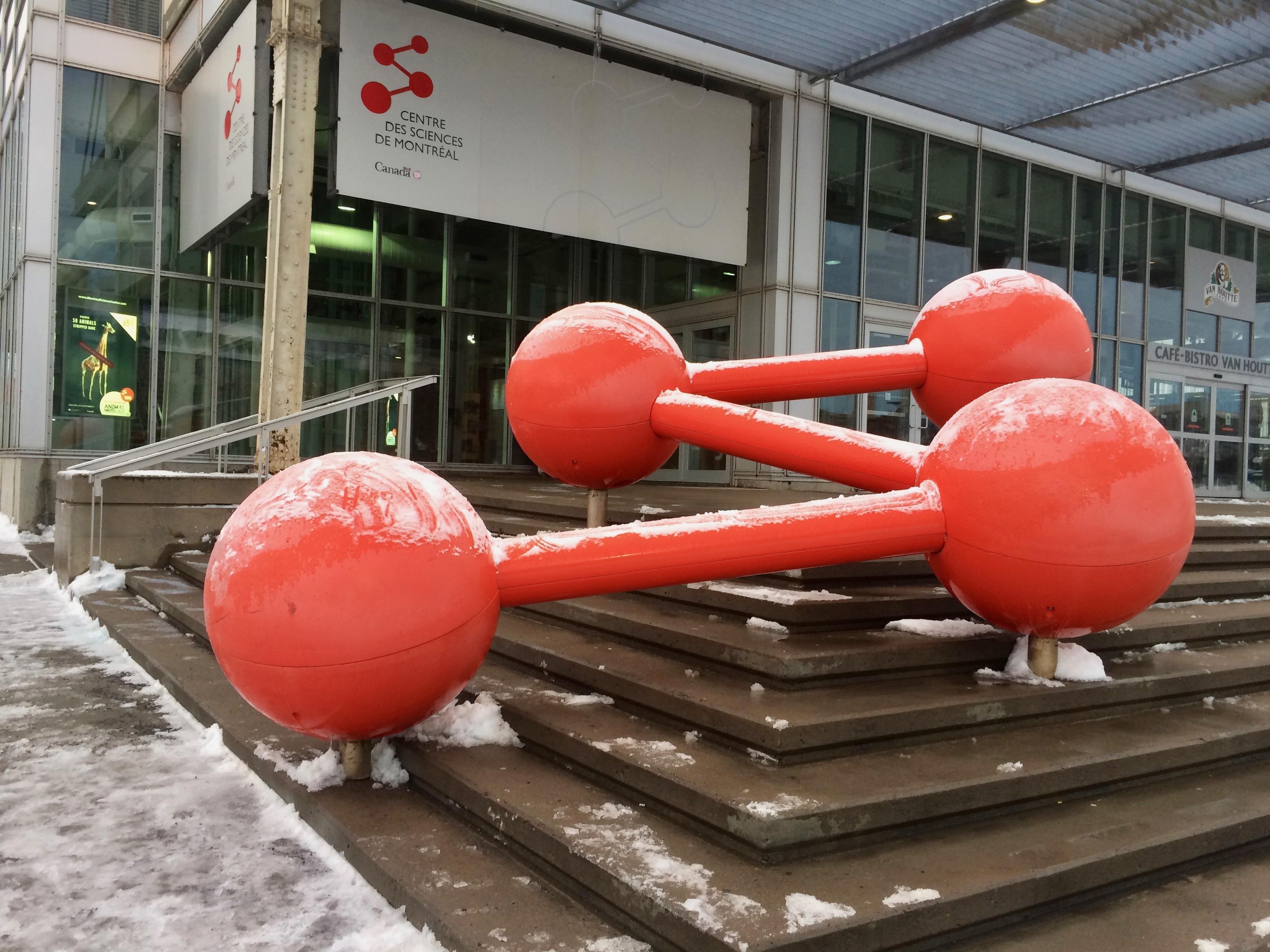 Une sortie au Centre des Sciences de Montréal