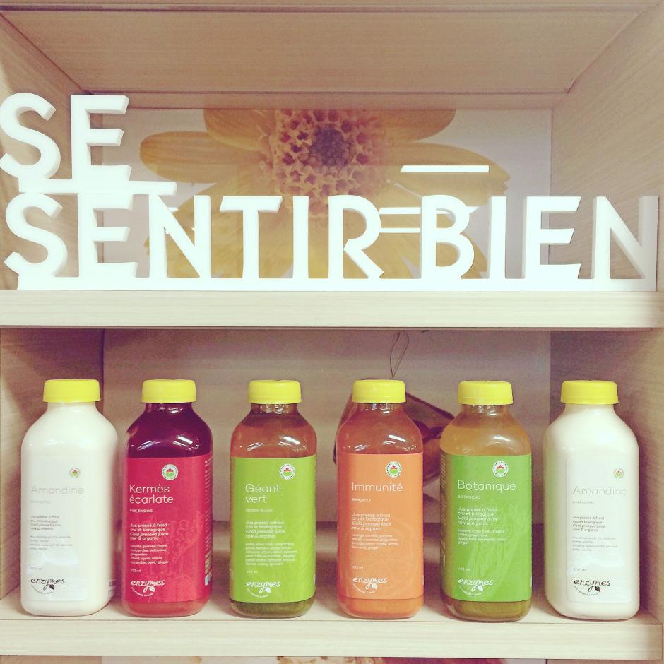 Les jus Enzymes pour une nutrition saine et savoureuse!