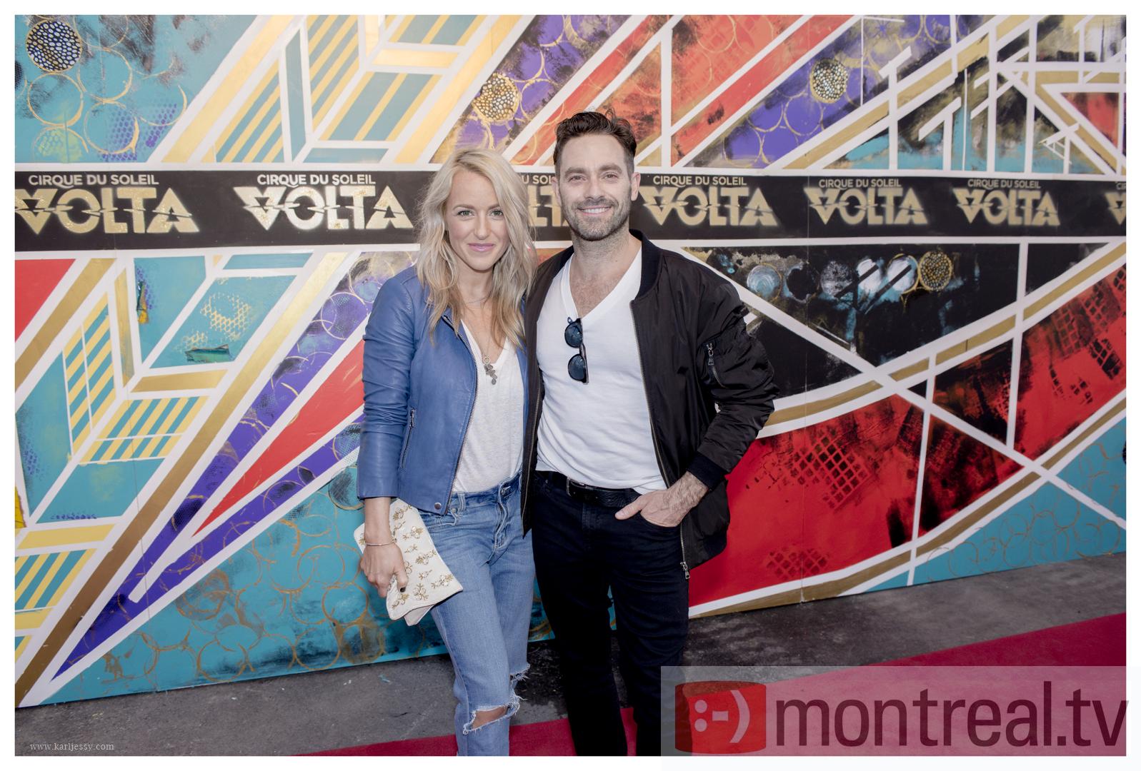 Première de Volta du Cirque du Soleil à Montréal: les photos du Tapis rouge