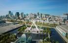 Une GRANDE ROUE dans le Vieux-Port de Montréal | VIDÉO