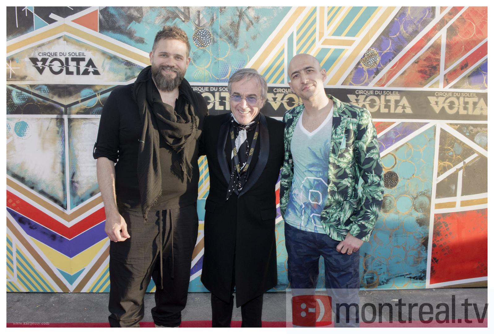 Daniel Lamarre_VOLTA_RedCarpet_MontrealTV