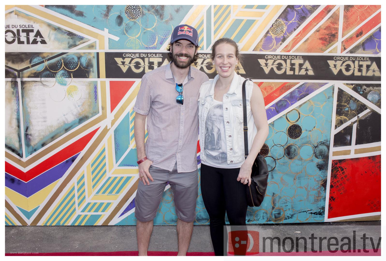 Marianne St-Gelais_Charles Hamelin_RedCarpet_MontrealTV_VOLTA_RedCarpet_MontrealTV