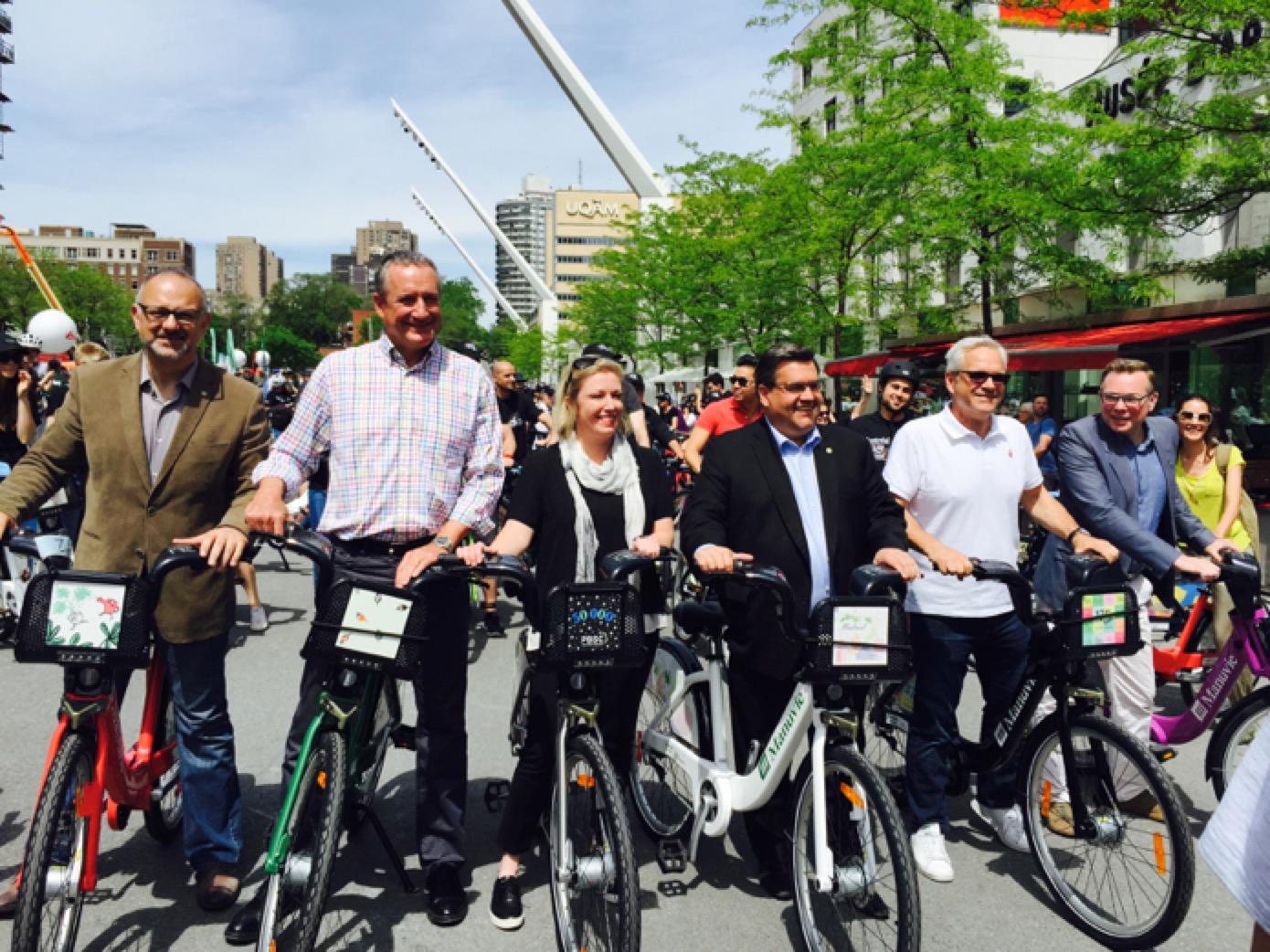 Des nouveaux BIXI pour les 375 ans de Montréal