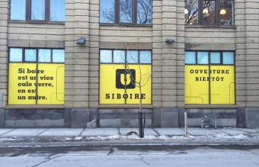La microbrasserie Siboire ouvre à Montréal