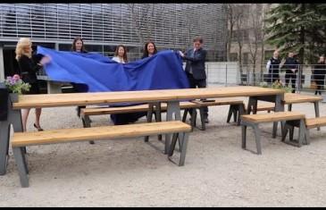 Des nouvelles tables à pique-nique à Montréal | VIDÉO