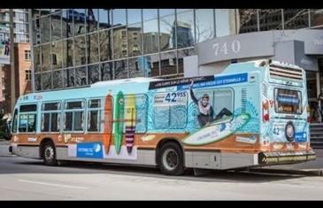 Wi-Fi gratuit sur autobus STM