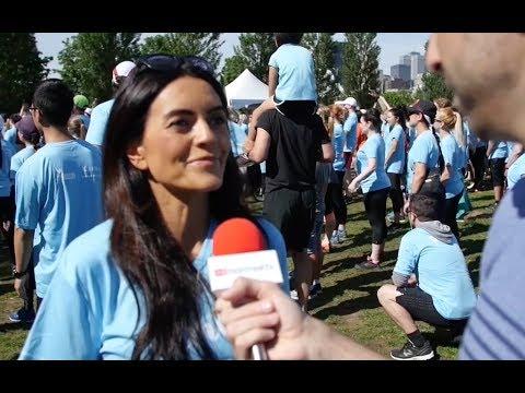 La Course pour les femmes à Montréal | VIDÉO
