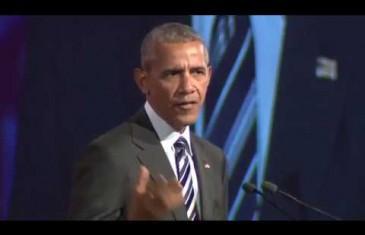 Le discours complet de Barack Obama à Montréal | VIDÉO