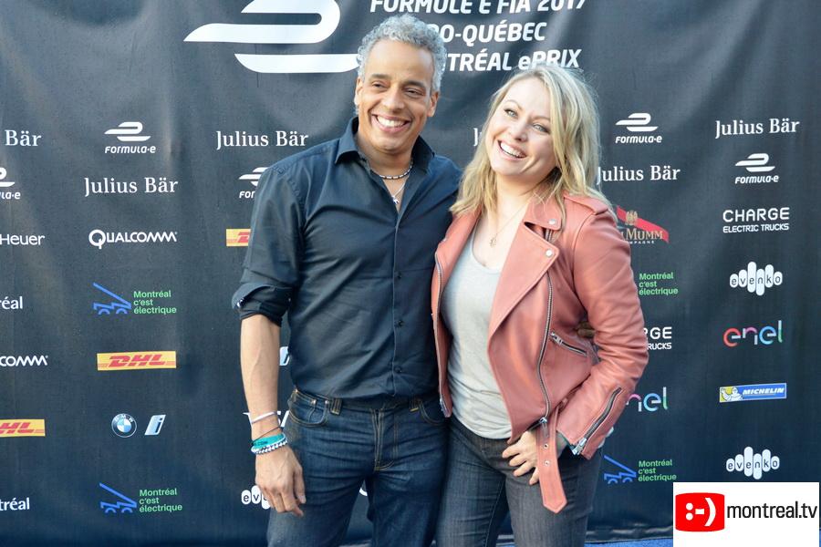 Tapis rouge de la Formule E à Montréal | Photos