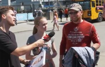 Jonathan Drouin à la rencontre des fans dans le Vieux-Port de Montréal | VIDÉO