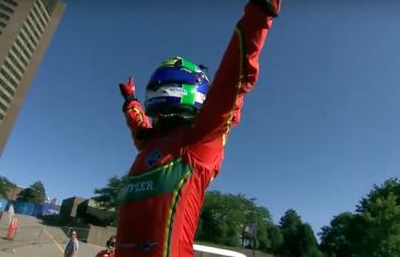 Lucas Di Grassi gagne la première course de Formule E à Montréal | Vidéo