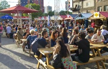 Le plus grand village gourmand à ciel ouvert en Amérique du Nord est à Montréal