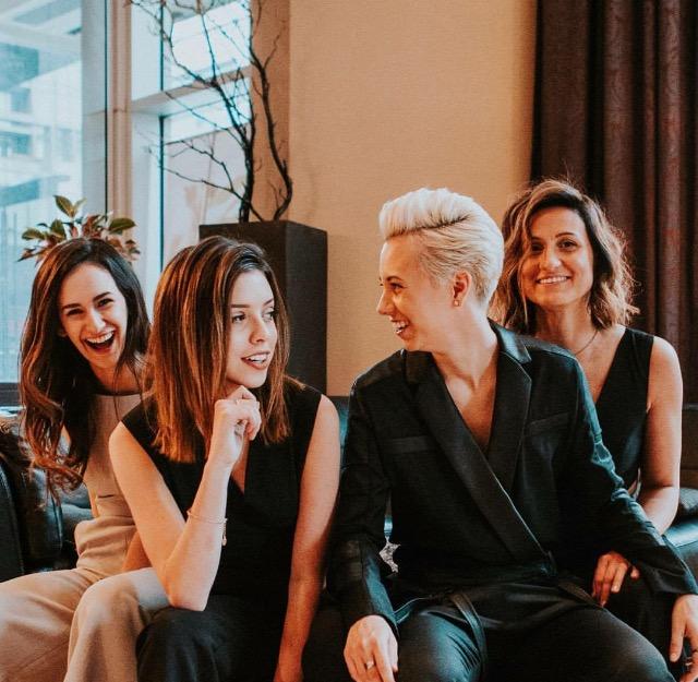 Mila Taillerfer, Noémie Lacerte, Frede Rioux, Florence-Elyse Ouellette Crédit : Ludovic Rolland-Marcotte