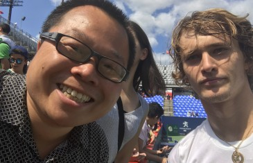 Le roi des selfies a connu toute une semaine à la Coupe Rogers