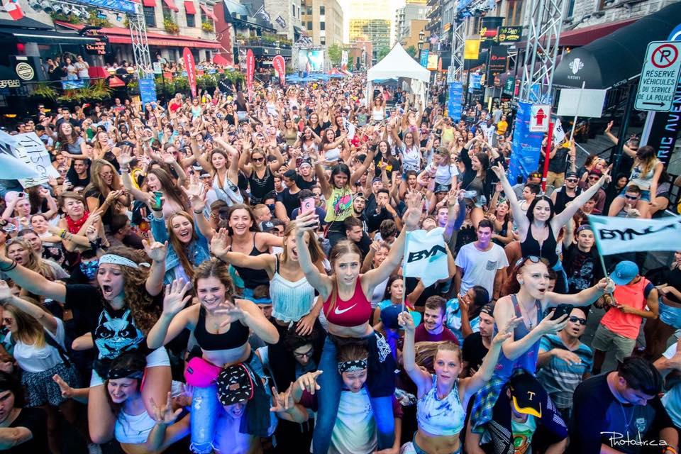 Le festival EDM Villa Paradizo prend d'assault la rue Crescent ce week-end à Montréal