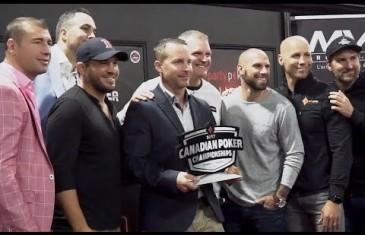 Plusieurs vedettes au Championnat canadien de poker | Vidéo