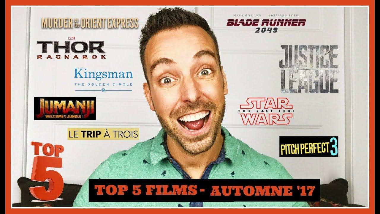 Top 5 films à voir cet automne | Vidéo