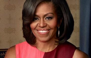 Michelle Obama en discours à Montréal
