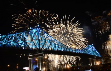 Montréal en Fêtes et un 31 décembre spectaculaire | Vidéo