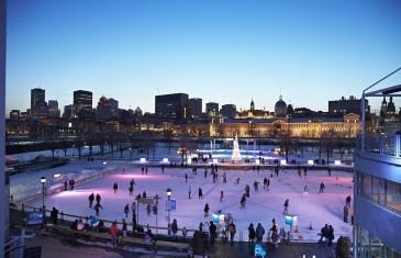 La patinoire du Vieux-Port ouvre ce week-end à Montréal
