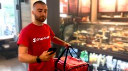 Deux Montréalais fondent SnapGrab une application de livraison   Vidéo