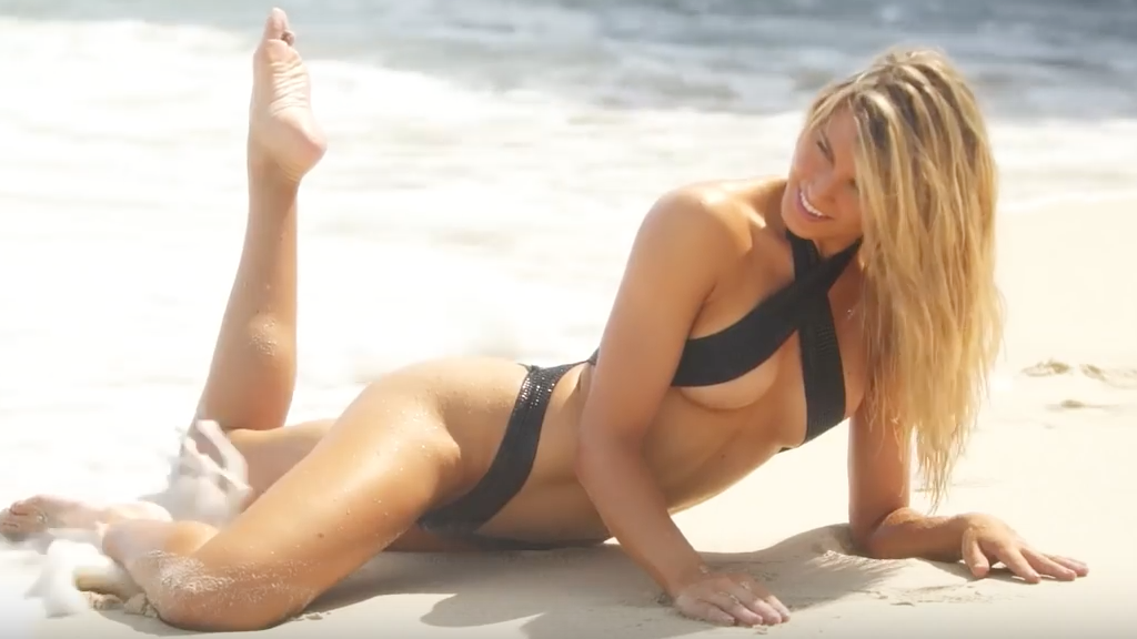 Eugenie Bouchard super sexy dans le magazine Sports Illustrated 2018 | Vidéo