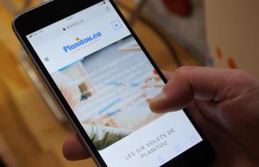Vidéo | Dévoilement de l'application Web et mobile de Planitou.ca