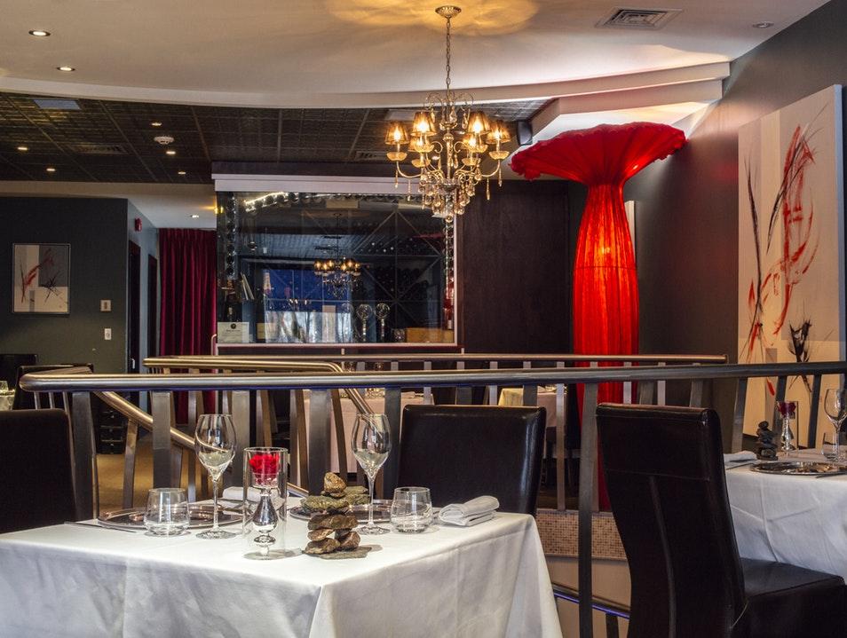 Le réputé restaurant Europea à Montréal