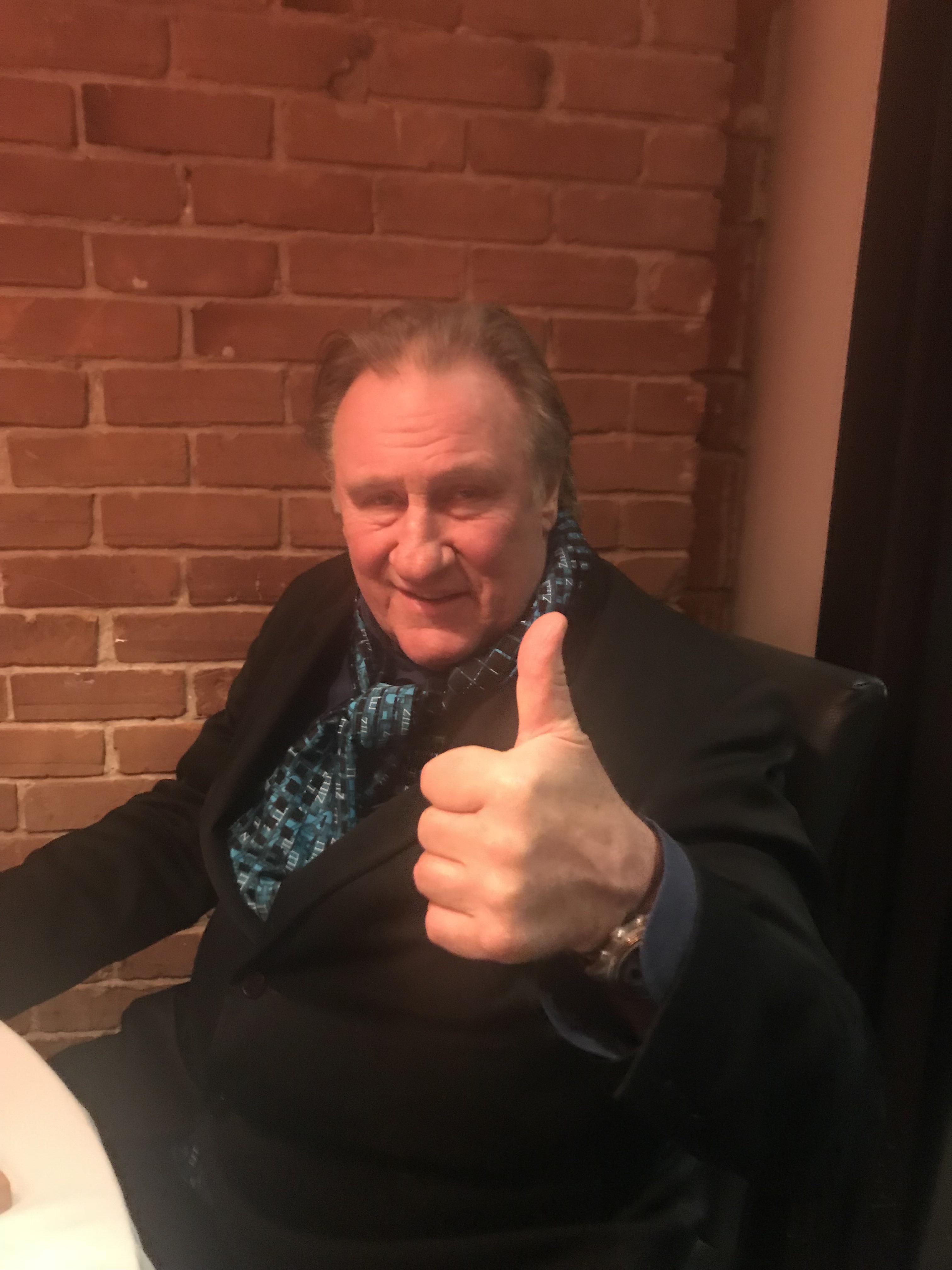 Gérard Depardieu est à Montréal