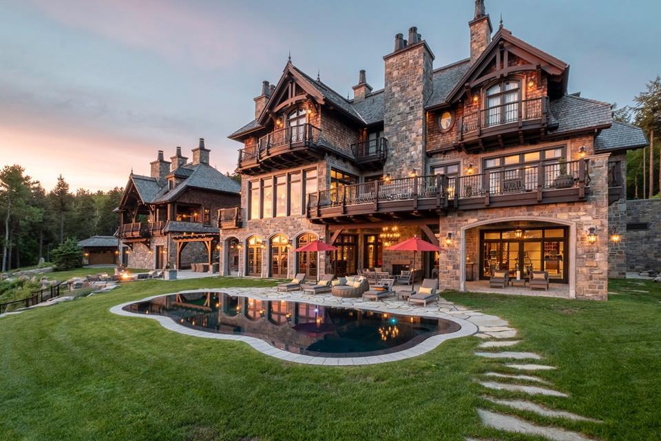 La magnifique résidence de Mario Lemieux est à vendre à Tremblant pour 22M$ | Photos