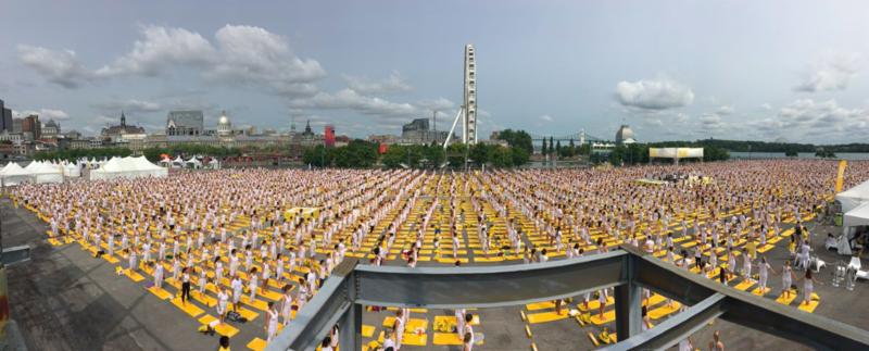 8 000 personnes assistent au Lolë White Tour à Montréal