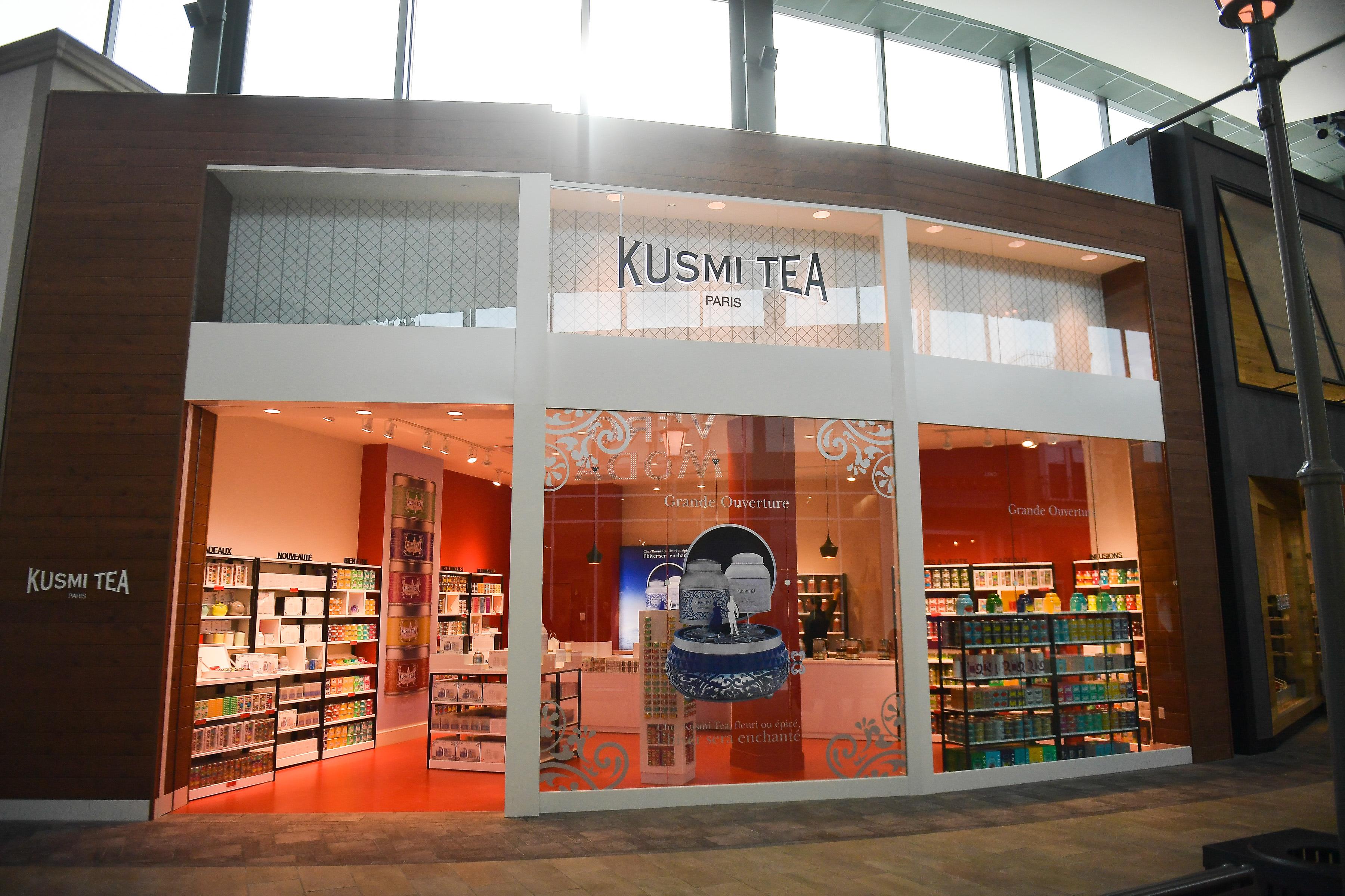 Kusmi Tea ouvre au Carrefour Laval