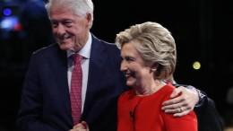 Bill et Hillary Clinton en conférence au Centre Bell le 28 novembre