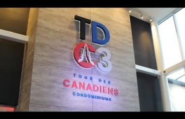 Vidéo | Dévoilement de la Tour des Canadiens 3