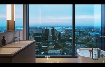 Vidéo | Les penthouses luxueux du projet immobilier Humaniti à Montréal